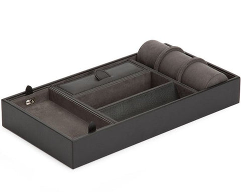 Wolf - Blake Valet Tray w Watch Roll | 306402