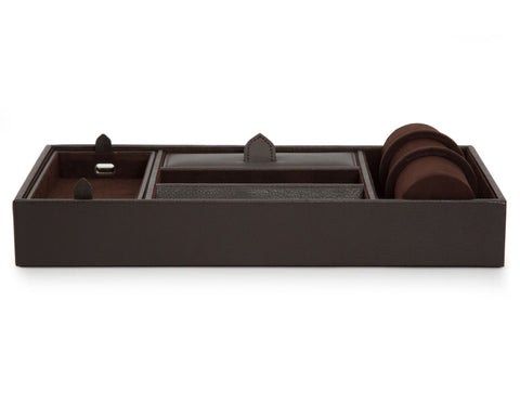Wolf - Blake Valet Tray w Watch Roll | 306406