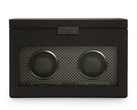 Wolf - Axis Double Watch Winder w storage | 469303