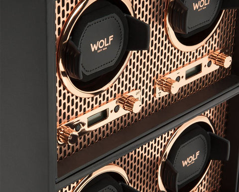 Wolf - Axis 4-Unit Watch Winder | 469516