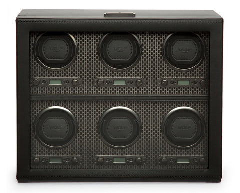 Wolf - Axis 6-Unit Watch Winder | 469603