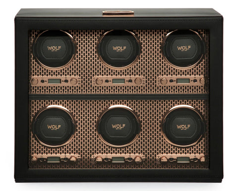 Wolf - Axis 6-Unit Watch Winder | 469616