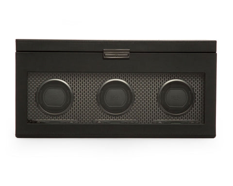 Wolf - Axis Triple Watch Winder w storage | 469403
