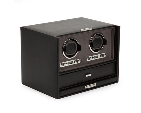 Wolf - Blake Double Watch Winder w Storage | 460702