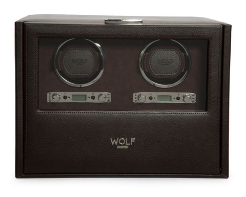 Wolf - Blake Double Watch Winder w Storage | 460706