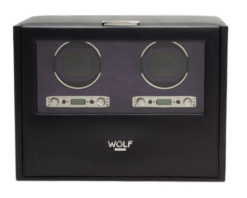 Wolf - Blake Double Watch Winder w Storage | 460728