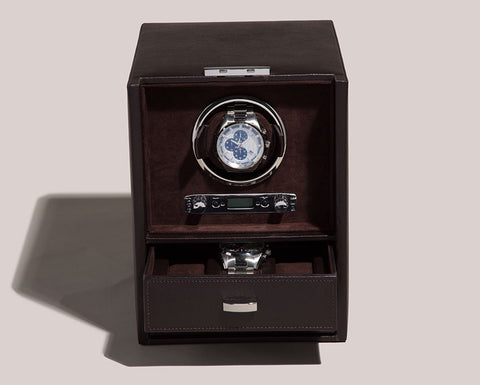 Wolf - Blake Single Watch Winder w Storage | 460606