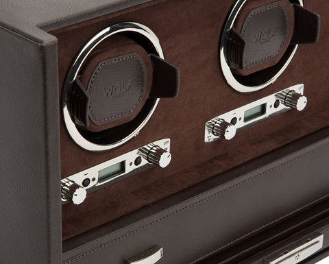 Wolf - Blake - Triple Watch Winder w Storage | 460806