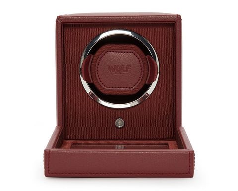 Wolf - Cub Single Watch Winder w Cover | 461126