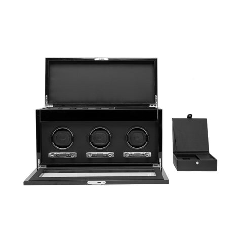 Wolf - Savoy Triple Watch Winder w Storage | 454770