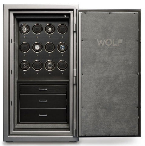 Wolf - 1834 Atlas 12-Unit Watch Winder Safe | 491265
