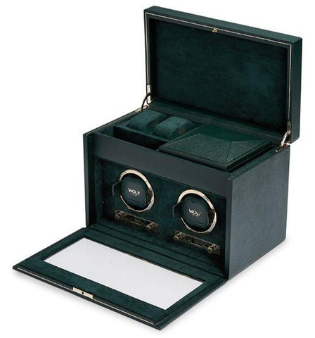 Wolf - British Racing Green Double Winder w Storage | 792241