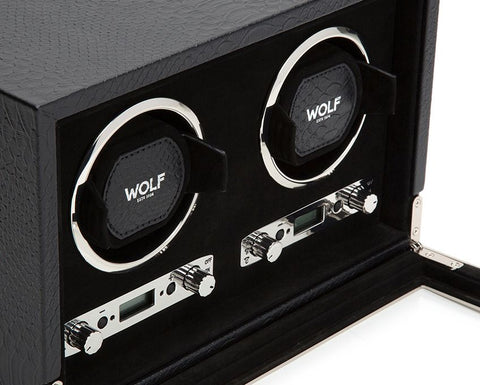 Wolf - Exotic Double Watch Winder | 461820