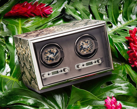 Wolf - Exotic Double Watch Winder | 461822