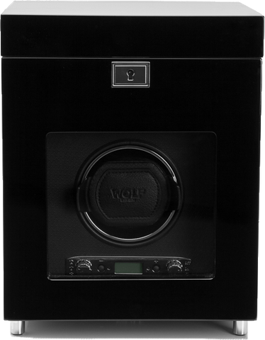 Wolf - Savoy Single Watch Winder w Storage | 454570