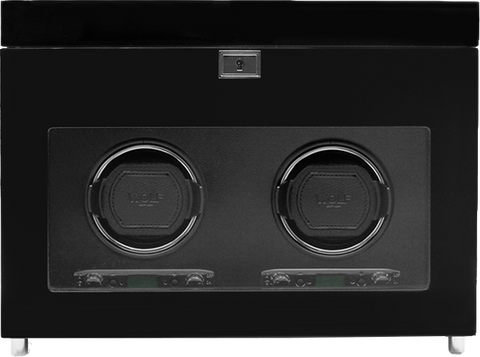 Wolf - Savoy Double Watch Winder w Storage | 454670