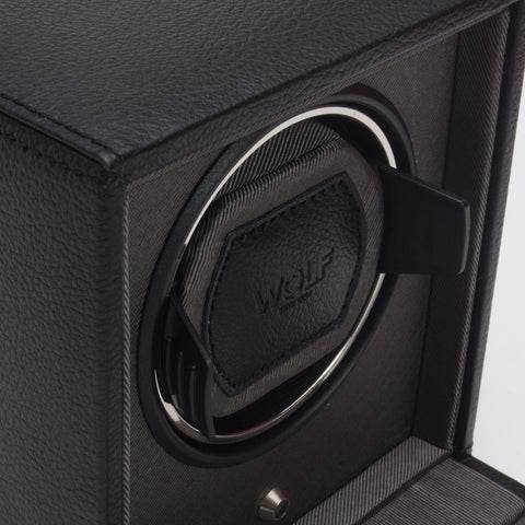 Wolf - Cub - Single Watch Winder w Cover | 461103