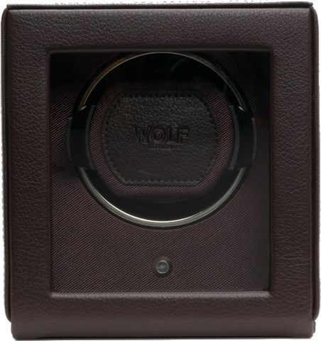 Wolf - Cub - Single Watch Winder w Cover | 461106
