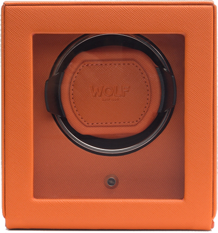 Wolf - Cub Single Watch Winder w Cover | 461139