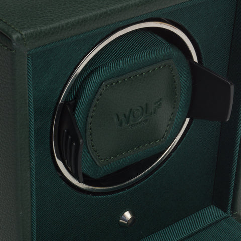 Wolf - Cub Single Watch Winder w Cover | 461141
