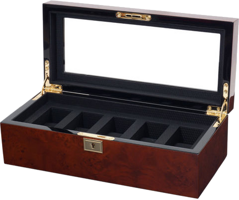 Wolf - Savoy - 5 Unit Watch Storage Box | 461510