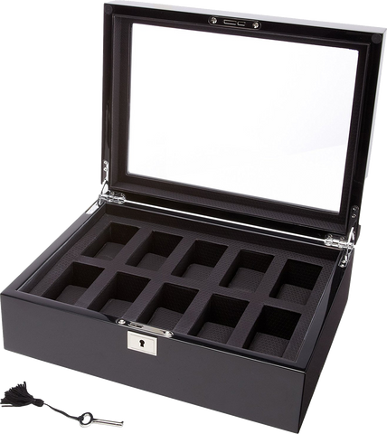 Wolf - Savoy - 10 Unit Watch Storage Box | 461670