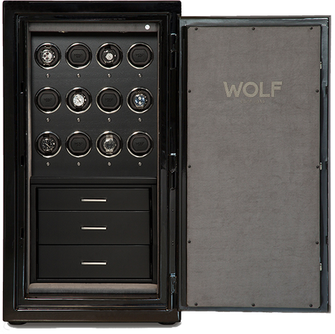 Wolf - 1834 Atlas 12-Unit Watch Winder Safe | 491264