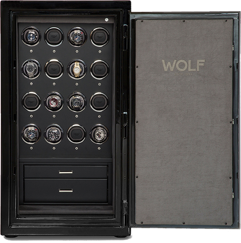 Wolf - 1834 Atlas 16-Unit Watch Winder Safe | 491664