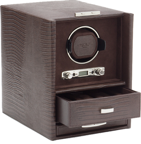 Wolf - Blake - Single Watch Winder w Storage | 460695