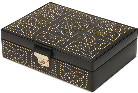 Wolf - Marrakesh Flat Jewelry Box | 308302