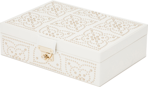 Wolf - Marrakesh Flat Jewelry Box | 308353