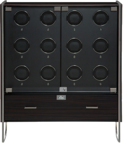 Wolf - 1834 Regent - Watch Winder Cabinet In Zebra Wood | 468040