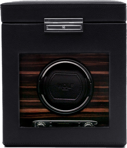 Wolf - Roadster Single Watch Winder w Storage | 457156