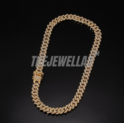 12MM S-Link Cuban Necklace