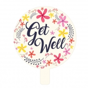 "Get Well 9"" Foil Balloon"