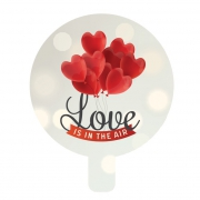 "Love 9"" Foil Balloon"