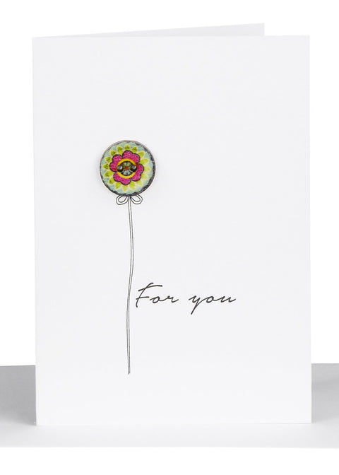 For You Message Card (blank inside)