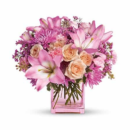 'Peach' Floral Bouquet