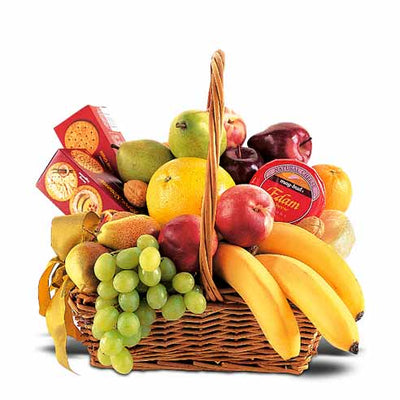 'Fruity Cheese' Gift Basket