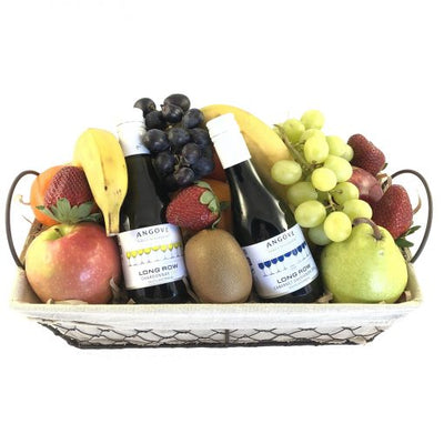 'Fruit & Wine Lover' Gift Basket