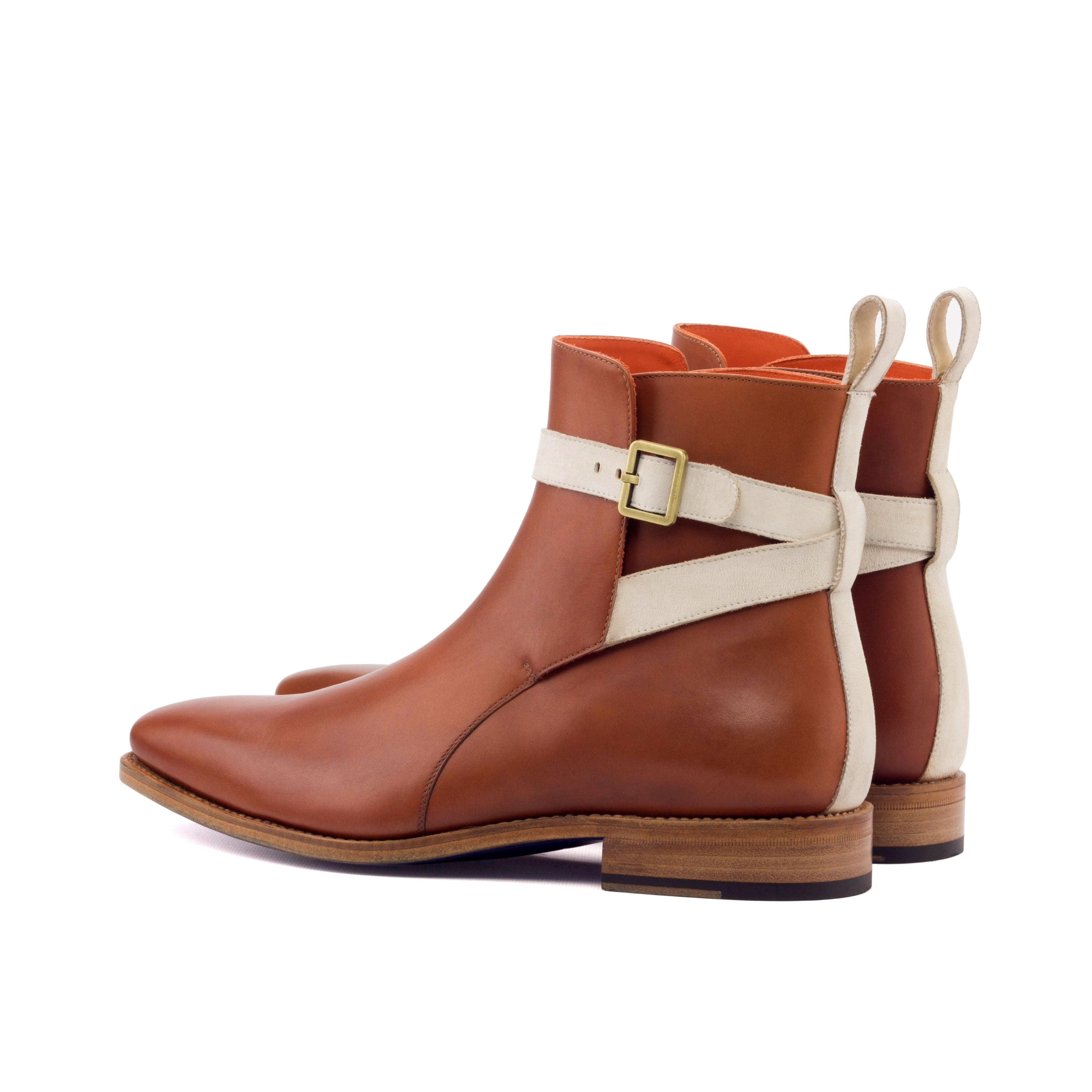 Class and Cognac with Ivory Jodhpur Boot