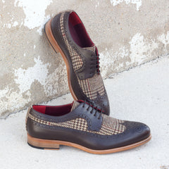 Winston Tweed Sartorial Longwing Blucher Shoe