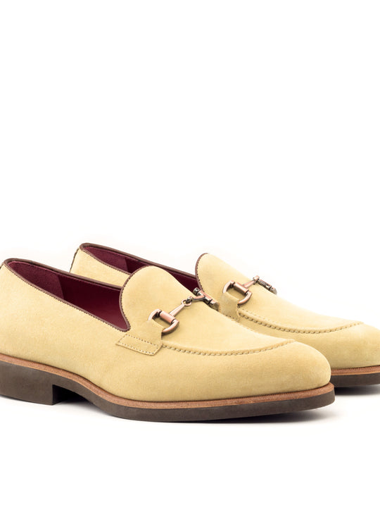 Swagger 2 Tweed Sartorial and Box Leather Loafer