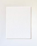 CUSTOM Single Mat Ivory White Choose Size