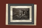 Uprooted Surreal Men Male Figures in Forest Trees Roots Fine Art Print