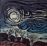 Angry Skies Mosaic Color Fine Art Print Southwest Landscape Storm Wind