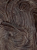 Spring Life of Tree Rings Original Wood Engraving Dance Rebirth Figures Surreal