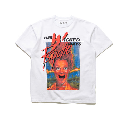 "AOT ""Her Wicked Ways"" Tee (White)"