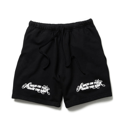 AOT Enjoy! - Sweatshorts (Black)