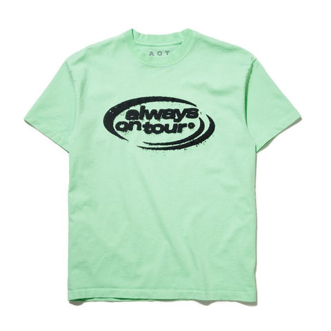 Spinner T-Shirt: Seafoam Green